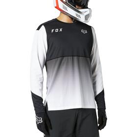 Fox Flexair LS Jersey Men, negro/blanco